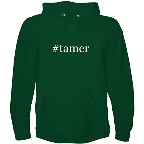 The Town Butler #Tamer - Men's Hoodie Sweatshirt, Green, Medium ()