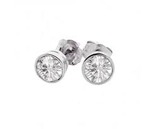 Round earrings couple Jewelry earrings Women's Stainless Steel - Bajoran Costume