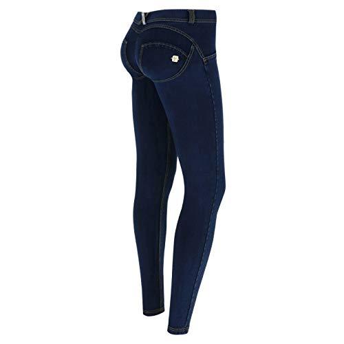 Classique Denim Perry en Fred WR Longueur Taille Skinny bleu lastique UP Basse Pantalon 8xqxUdv