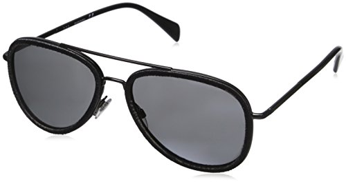 Diesel Dl0167 Aviator Sunglasses, Black, 58 - Diesel Sunglasses Mens