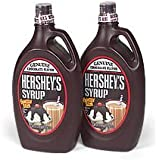Hershey's Chocolate Syrup Squeezy Bottle 680g (pack of 2)