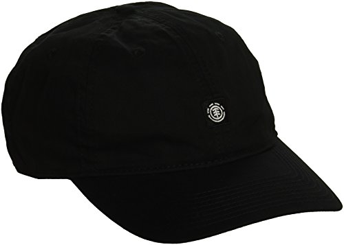 Element Men's Caps, Flunky Dad All Black, ONE