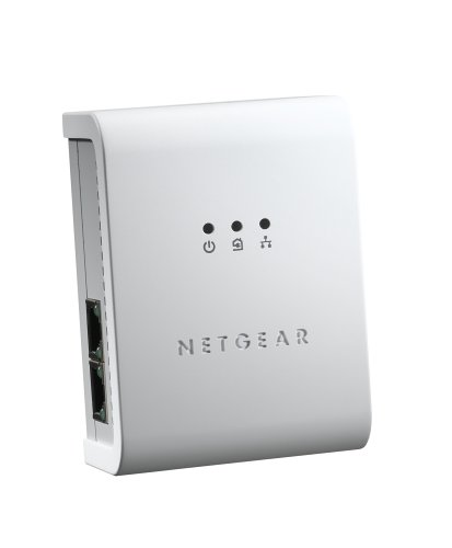 NETGEAR XE104 85 Mbps Powerline 4-Port Ethernet (Netgear Xe102 Wall)