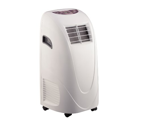 - Global Air 10,000 BTU Portable Air Conditioner Cooling /Fan with Remote Control in White