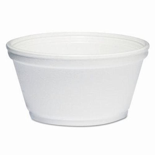 DART Foam Container, 1000/Carton, 8 oz, - Containers Soup Styrofoam