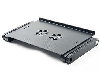 Amazon.com : Ajustable con ventilación Laptop Tabla ordenador portátil cama del escritorio portátil Bandeja Soporte de libro Multifuctional y Ergonomía ...