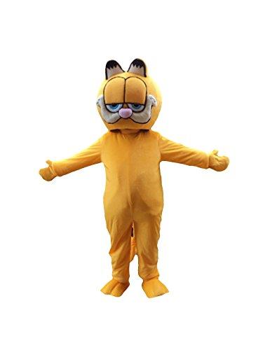 Garfield Cat Adult Mascot Costume Cosplay Fancy Dress