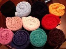 Hurricane Relief Fleece Throws Assorted Colors Pack of 12