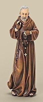 Joseph Studio Renaissance Padre Pio of Pietrelcina Religious Figurine 66899 New