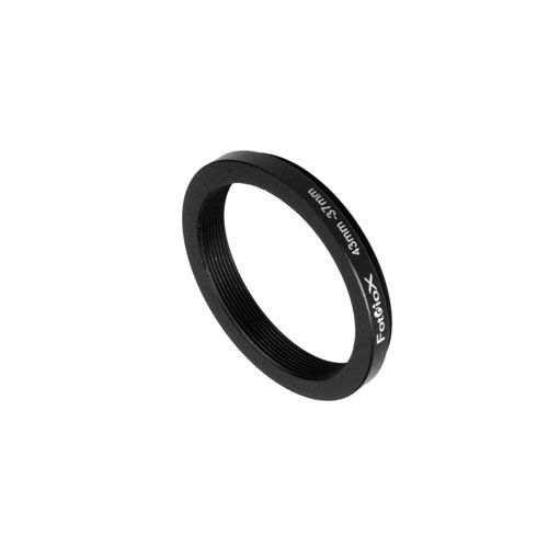 37mm Step Down Ring - Fotodiox Metal Step Down Ring Filter Adapter, Anodized Black Aluminum 43mm-37mm, 43-37 mm