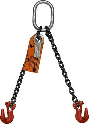 B//A Products G8-1410TL Grab Hook with Twist Lock Each End 7.5 Width 17.7 Length 1//4 Grade 80 Chain x 10 4.3 Height