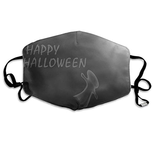 (SOADV Mouth Masks Happy Halloween Pattern Mouth Masks Unisex Anti-Dust Flu Washable Reusable Mouth Mask Fashion Design for Girls Women Boys)