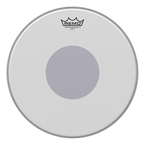 Remo CX011410 Controlled Sound X Drum Head, 14-Inch, Black Dot on Bottom (Drum Snare Bottom Head)
