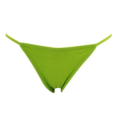 GreeNice 3263 - Braga Baja Sin Costuras Para Mujer - Slips Ropa Interior Tangas - Pack de 9-12 9