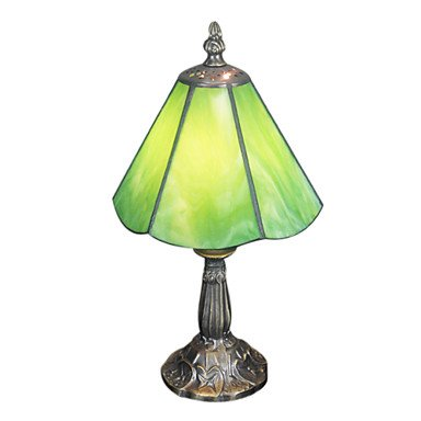 Amazon.com: Tiffany Table Light with 1 Light Green: Home ...