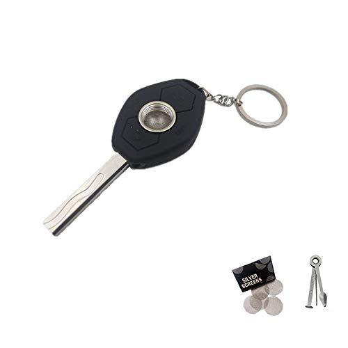 Jamaican Metal Mini car Key Pipe - The Best Gift for Friend & Husband by PANMLY