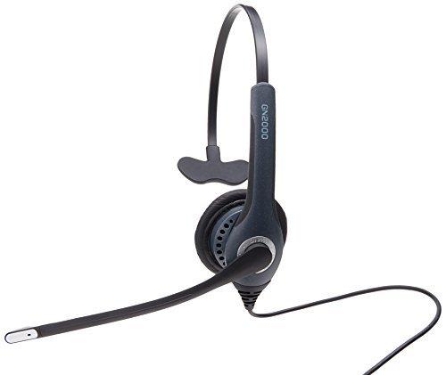 [해외]Softphone 용 Jabra GN2000 USB 모노 UC 유선 헤드셋/Jabra GN2000 USB Mono UC Corded Headset for Softphone