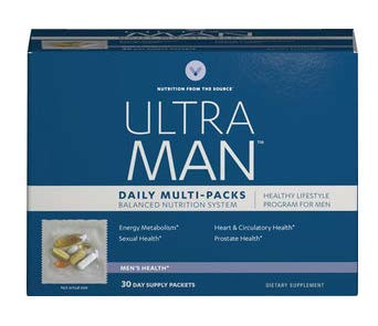 Ultra Man Daily Multi-Packs Balanced Nutrition System 30 Day