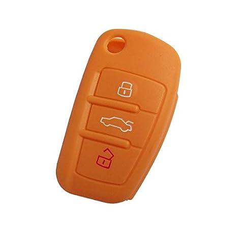 Amazon.com: Llavero de silicona para Audi A1, A3, A4, A5, A6 ...