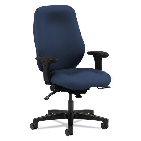 (Hon 7800 Series High-Back, High Performance Task Chair, Navy)