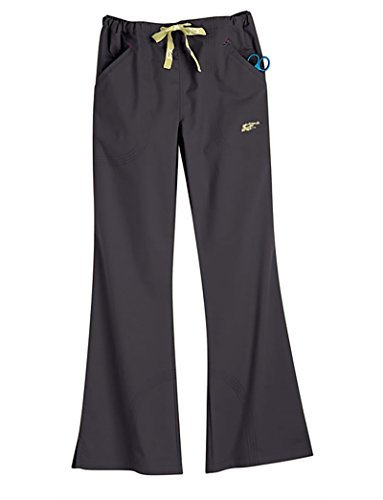Iguanamed MA153808 Women's 5500 Quattro Pant, XX-Small, Eclipse Black