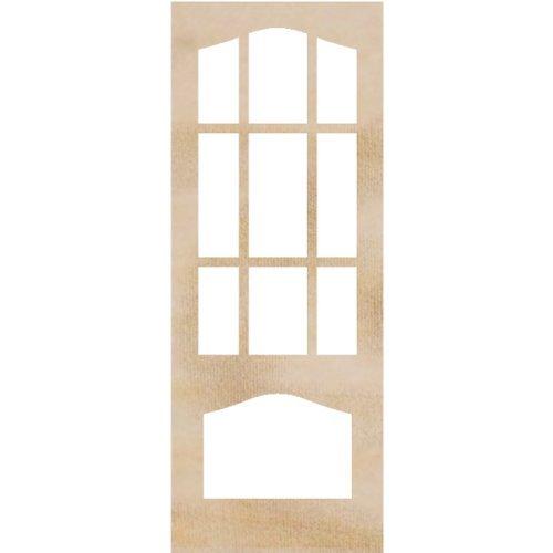Kaisercraft Wood Flourishes 2-Pack-Decorative Door Frames, 4 x 10.25-Inch Model: FL529 (Hardware & Tools Store)