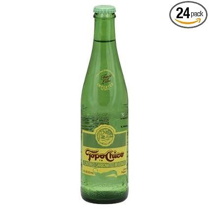 Agua mineral Topo Chico, 11.5onzas (paquete de 24 ...