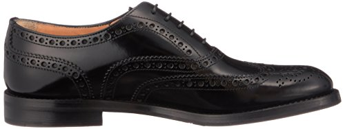 Lace Women's Leather Patent up Burwood Black Black Church's E8xqCRq