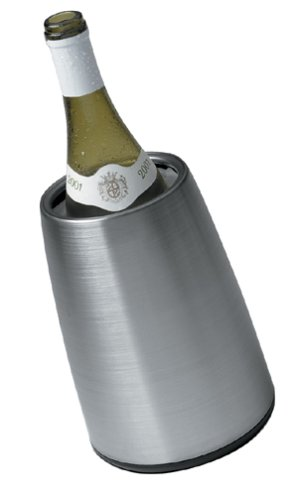 Vacu Vin 3049346 Vacu Vin Prestige Stainless-Steel Tabletop Wine (White Wine Chiller)