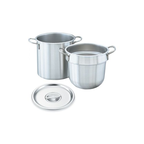Vollrath 77130 Stainless Steel 20 Quart Double Boiler Set by Vollrath