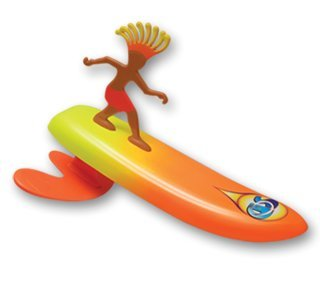 Surfer Dudes Wave Powered Mini-Surfer and Surfboard Beach Toy - Old Version - Costa Rica Rick