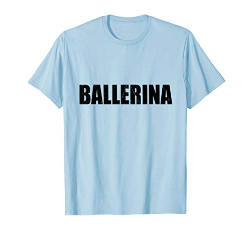 Ballerina Halloween Costume Funny Cute Job Word Career -