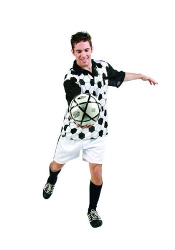 [Soccer Player - Adult Standard Costume] (Male Football Player Costume)