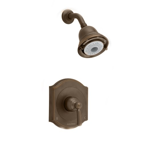 American Standard T415501.224 Portsmouth Shower Only Trim Kit with Square Escutcheon, Oil Rubbed Bronze