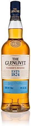 The Glenlivet Founder's Reserve Whisky Single Malt Escocês, Dourado, 75