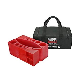 Image of Andersen 2-Pack Camper Leveler Kit in a Sturdy Carry Bag with Double Handles Levelers