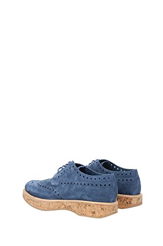 Women Blue Laced UK A73945ASTRAL Church's shoes ExwqTR