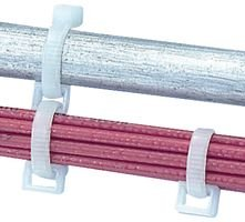 PANDUIT CR4H-M CLOSED CONNECTOR RING FOR CABLE TIES, 9.1MM W, NYL, PK1000