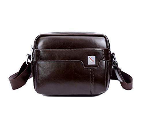 Fashion Simple tracolla a Piccola retr borsa Borse Casual Skitor Uomo per Juveniles Pelle a business Briefcase spalla tablet dxoWQrCBe