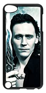 Loki Warrior Ipod Touch 5 PC Black Sides Hard Shell Case by eeMuse