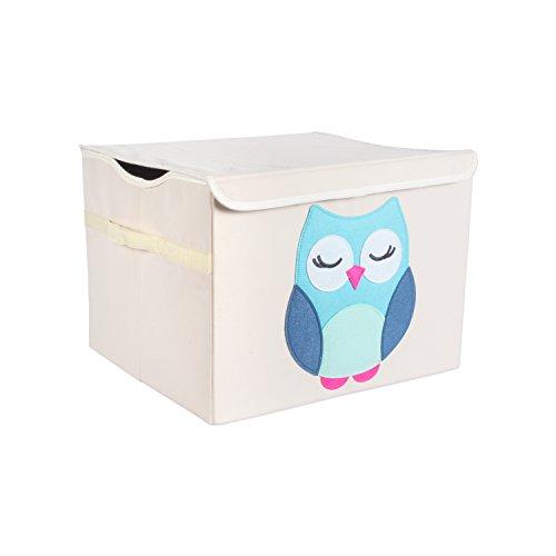 oom Storage Toy Chest with Flip Lid ((17 x 15 x 12