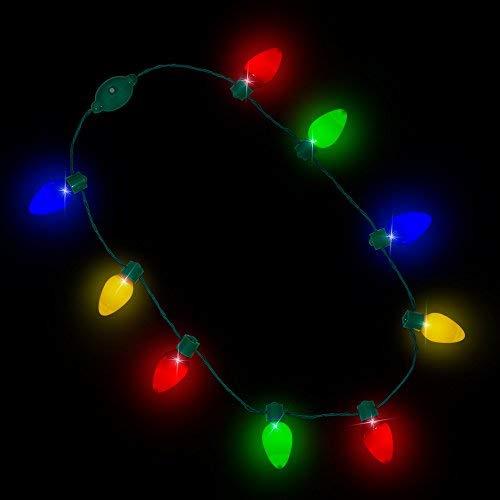 Flashing Led Light Necklace