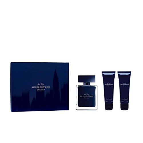 (NARCISO RODRIGUEZ Bleu Noir Eau de Toilette for Him, All-Over Sower Gel, 2 Count)