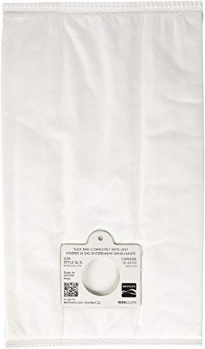 Kenmore 53292 Style Q HEPA Cloth Vacuum Bags for Kenmore Canister Vacuum Cleaners 6 pack ()