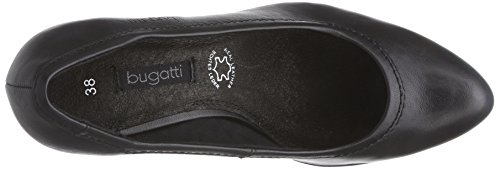 bugatti V4962PR6N - Zapatos de vestir de material sintético para mujer negro - negro