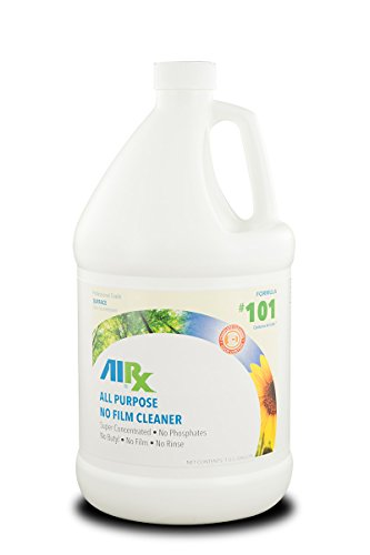 Airx RX 101 All Purpose Odor Counteractant Cleaner, 1 Gallon Bottle, Bright - General Rx