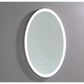 Amazon Com Vanity Art 24 Inch Round Led Lighted