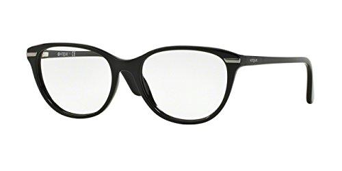 Vogue VO2937 Eyeglass Frames W44-51 - Black - Vogue Wear Eye