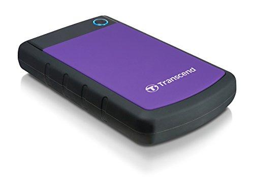 4TB Transcend StoreJet 25H3 2.5-inch USB3.0 Portable Hard Drive by Transcend