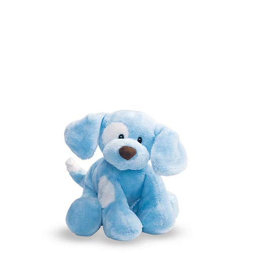 (Baby GUND Spunky Dog Stuffed Animal Plush Sound Toy, Blue, 8